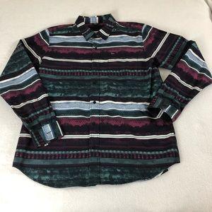 Lrg Clothing Men's 2XL Western Cowboy Shirt